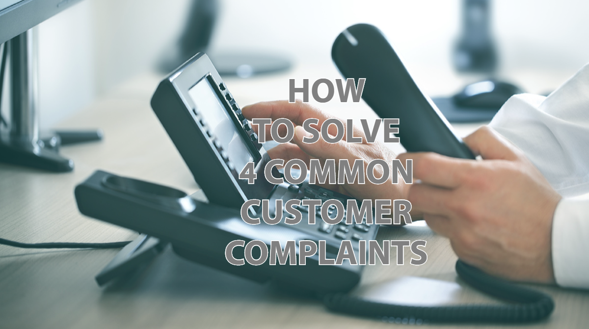 Common Consumer Complaints